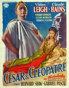 Caesar and Cleopatra - Belgian Movie Poster (xs thumbnail)