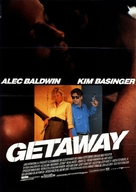 The Getaway - German Movie Poster (xs thumbnail)