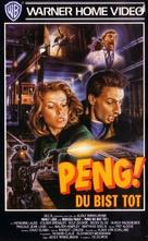 Peng! Du bist tot! - German VHS cover (xs thumbnail)