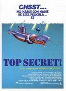 Top Secret - Spanish Movie Poster (xs thumbnail)