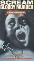 Scream Bloody Murder - VHS cover (xs thumbnail)