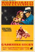 Bonnie and Clyde - Italian Movie Poster (xs thumbnail)