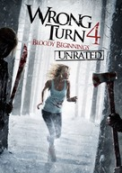 Wrong Turn 4 - DVD cover (xs thumbnail)