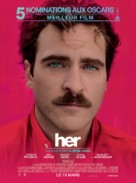 Her - French Movie Poster (xs thumbnail)