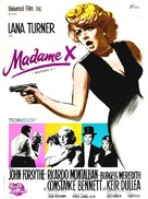 Madame X - French Movie Poster (xs thumbnail)