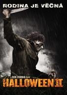 Halloween II - Czech DVD movie cover (xs thumbnail)