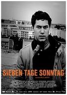 Sieben Tage Sonntag - German Movie Poster (xs thumbnail)