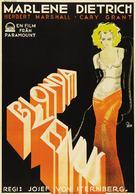 Blonde Venus - Swedish Movie Poster (xs thumbnail)