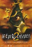 Jeepers Creepers II - Spanish Movie Poster (xs thumbnail)