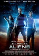 Cowboys & Aliens - Dutch Movie Poster (xs thumbnail)