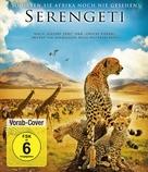 Serengeti - German Blu-Ray cover (xs thumbnail)