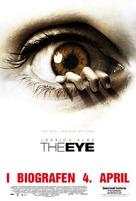 The Eye - Danish Movie Poster (xs thumbnail)
