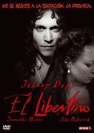 The Libertine - Argentinian DVD cover (xs thumbnail)