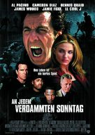 Any Given Sunday - German Movie Poster (xs thumbnail)
