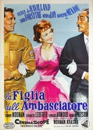 The Ambassador's Daughter - Italian Movie Poster (xs thumbnail)