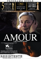 Amour - Argentinian Movie Poster (xs thumbnail)