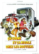 Truck Stop Women - French Movie Poster (xs thumbnail)