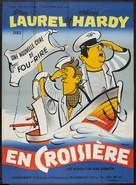 Saps at Sea - French Movie Poster (xs thumbnail)