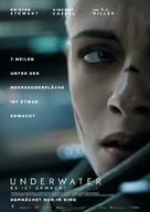 Underwater - German Movie Poster (xs thumbnail)