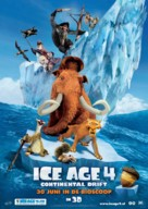 Ice Age: Continental Drift - Dutch Movie Poster (xs thumbnail)