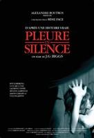 Pleure en silence - French Movie Poster (xs thumbnail)