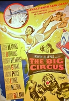 The Big Circus - Swedish Movie Poster (xs thumbnail)