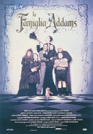 The Addams Family - Italian Movie Poster (xs thumbnail)