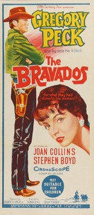 The Bravados - Australian Movie Poster (xs thumbnail)