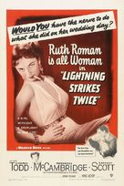 Lightning Strikes Twice - Theatrical movie poster (xs thumbnail)