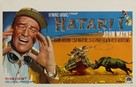 Hatari! - Belgian Movie Poster (xs thumbnail)