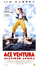 Ace Ventura: When Nature Calls - Italian Movie Poster (xs thumbnail)