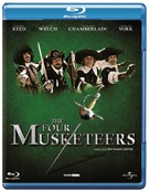 The Four Musketeers - Dutch Blu-Ray cover (xs thumbnail)