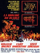 The Devil's Brigade - French Movie Poster (xs thumbnail)