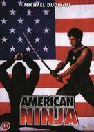 American Ninja - Danish DVD cover (xs thumbnail)