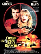 Bird on a Wire - French Movie Poster (xs thumbnail)