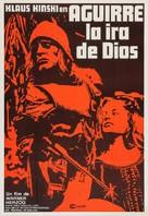 Aguirre, der Zorn Gottes - Argentinian Movie Poster (xs thumbnail)