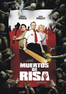 Shaun of the Dead - Argentinian Movie Cover (xs thumbnail)