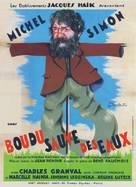 Boudu sauvé des eaux - French Movie Poster (xs thumbnail)