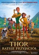 Hetjur Valhallar - Þór - Polish Movie Poster (xs thumbnail)