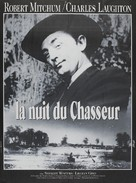 The Night of the Hunter - French Re-release movie poster (xs thumbnail)