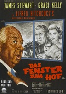 Rear Window - German Movie Poster (xs thumbnail)