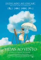 Kaze tachinu - Brazilian Movie Poster (xs thumbnail)