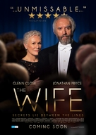 The Wife - Australian Movie Poster (xs thumbnail)