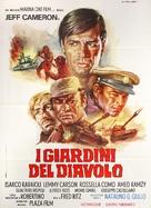I giardini del diavolo - Italian Movie Poster (xs thumbnail)