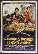 La moglie in vacanza... l'amante in città - Italian Movie Poster (xs thumbnail)