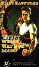 Every Which Way But Loose - Australian VHS movie cover (xs thumbnail)