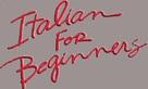 Italiensk for begyndere - Logo (xs thumbnail)