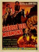 Wagon Master - Belgian Movie Poster (xs thumbnail)