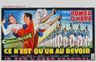 The Long Gray Line - Belgian Movie Poster (xs thumbnail)