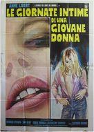 Le journal intime d'une nymphomane - Italian Movie Poster (xs thumbnail)